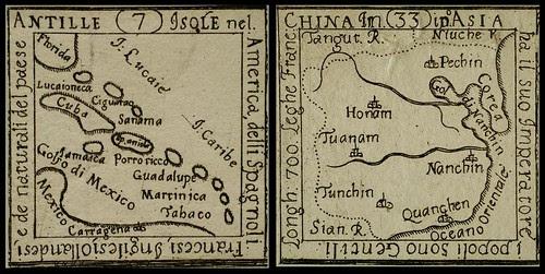 Don Casimir Freschot map miniatures