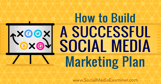 How to Build a Successful Social Media Marketing Plan : Social Media Examiner