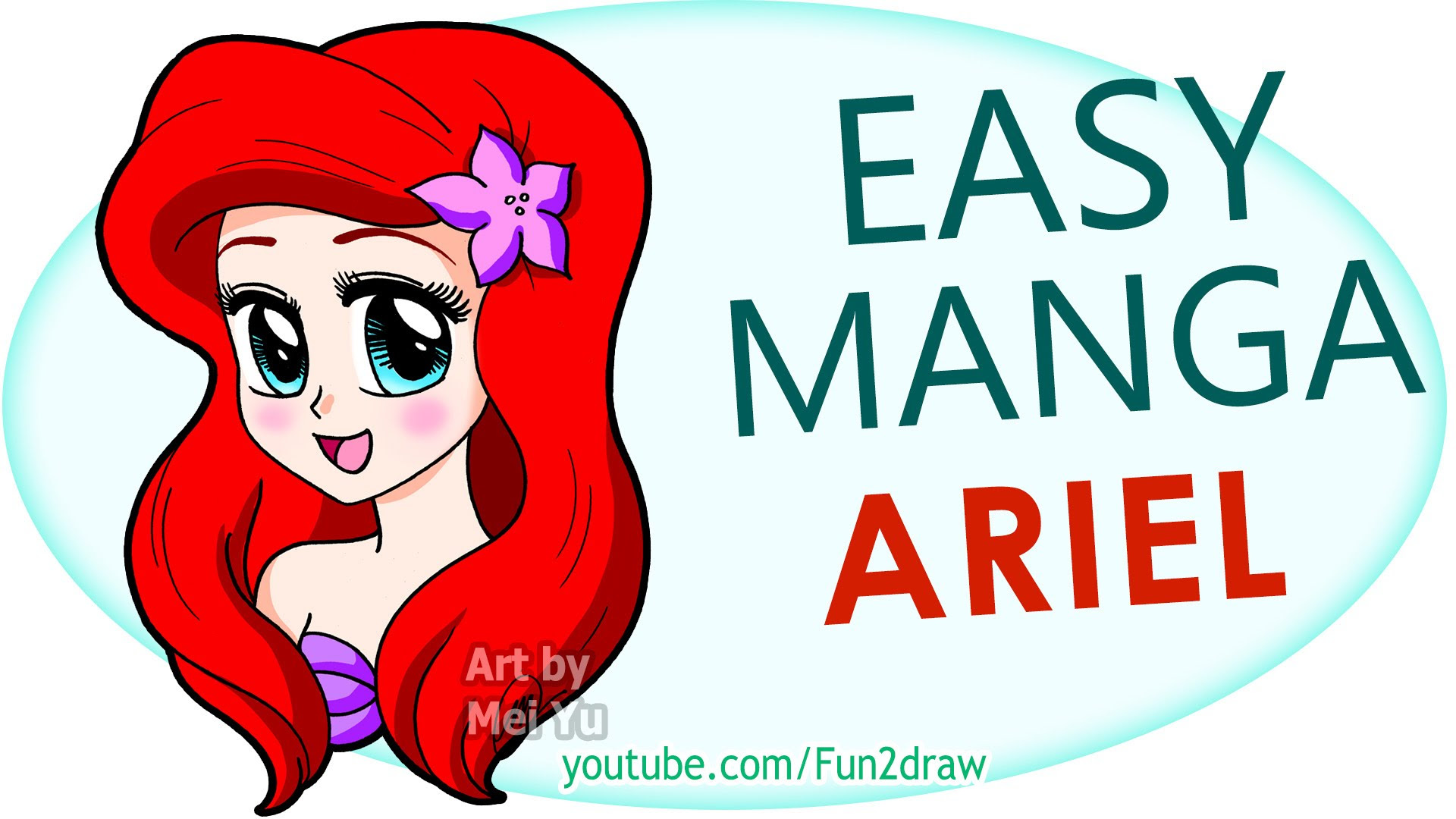 Easy Ariel Drawing At Getdrawingscom Free For Personal Use Easy
