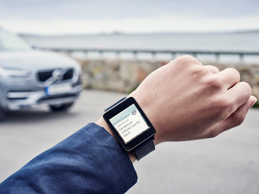 Android Wear support is coming to Volvo's Android app in June