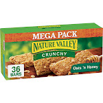 Nature Valley Crunchy Oats 'n Honey Granola Bars - 36ct