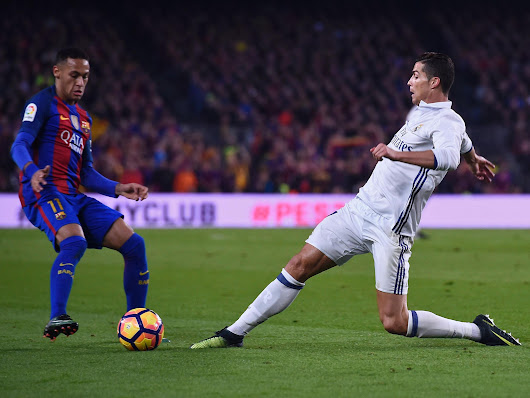 Cristiano Ronaldo at risk of joining Neymar on the sidelines for El Clasico