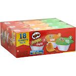 Pringles Potato Crisps Variety Pack - 18 tubs, 0.74 oz each