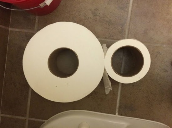 Which tube is larger?