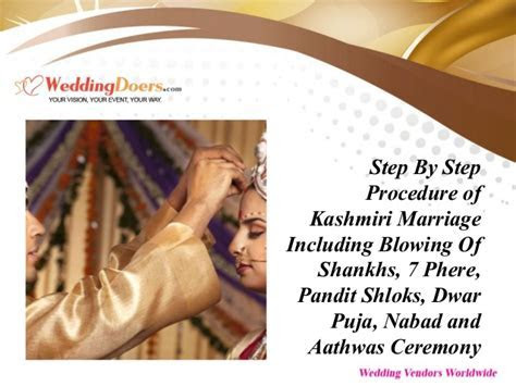 Step By Step Procedure Of Kashmiri Marriage Including