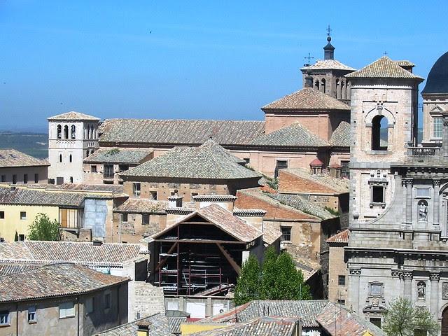 San Román, Madre de Dios y San Ildefonso desde la Torre de la Catedral