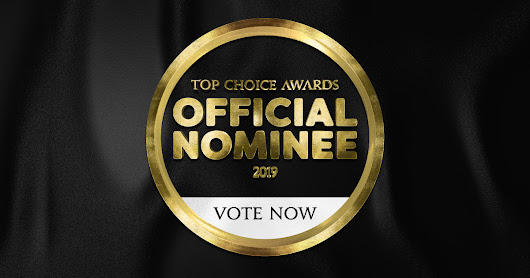 We're Nominated for a 2019 Top Choice Award