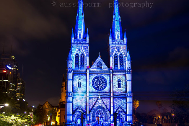 St Mary's Cathedral - Lights of Christmas Display