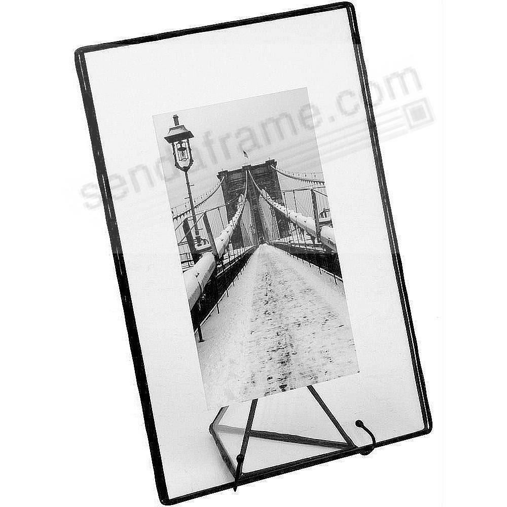 Clear Glass Float Frame 7x95x7 Black By Bedford Downing Picture