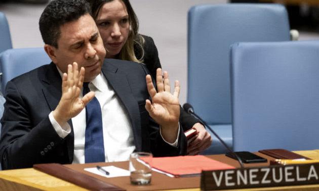 Resultado de imagen para Embajador venezolano ante la ONU ve muy grave decisión de EE.UU suspender vuelos a su país