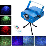 Alta Laser Lights, 7 Colors LED Party Light Projector, Strobe, Ripple Lighting (95435625)