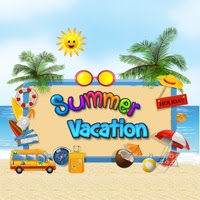 Summer Vacation Stickers & Emoji App Download - Android APK