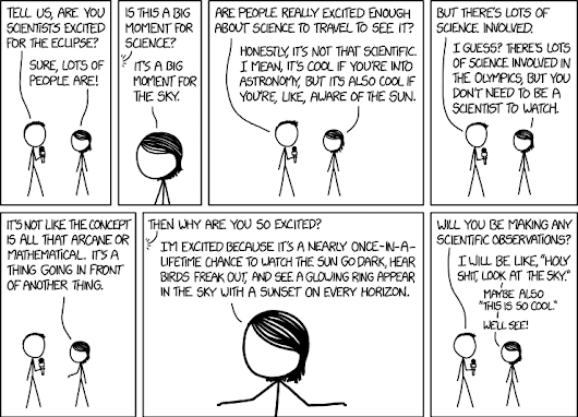 xkcd: Eclipse Science