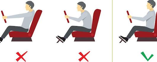 Correct Posture While Driving Greensburg PA | Hillview Motors