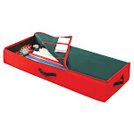 Simplify Christmas Gift Wrap Box/Organizer, Red