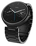 モトローラ Moto 360 Smart Watch スマートウォッチ 腕時計 Android Wear【並行輸入品】 (23ミリ幅ダークメタル)
