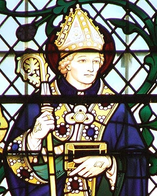ST. EGWIN, Bishop of Worcester in England