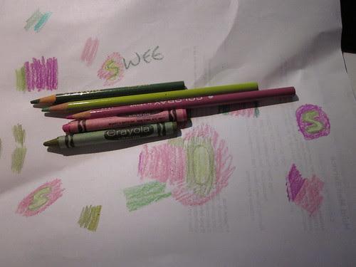 Color selection process #1