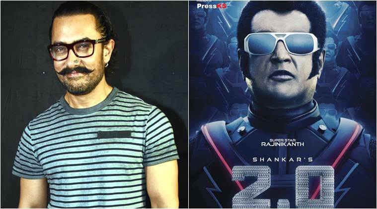 Image result for Aamir Khan reveals he was offered Rajinikanth's role in 2.0