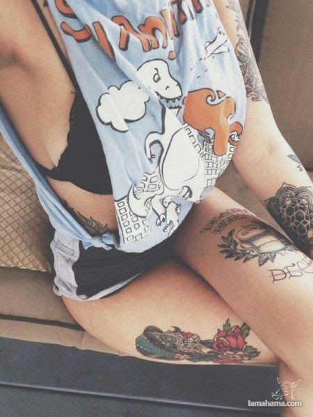 Girls with tattoos - Pictures nr 28