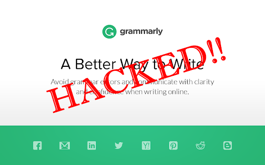 A Critical Flaw Found In Grammarly Spell Checker Which Allow Hackers Steal Your Data