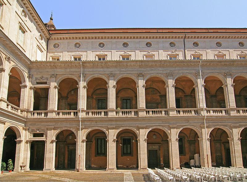 File:Palazzo della Sapiensa court.jpg