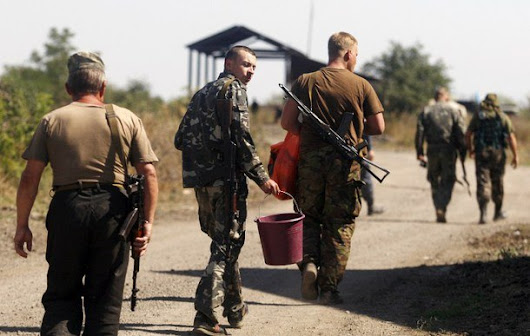 Ukraine Today: Prisoner swap between Ukrainian army and insurgents; each side transfers 38 detainees (VIDEO)