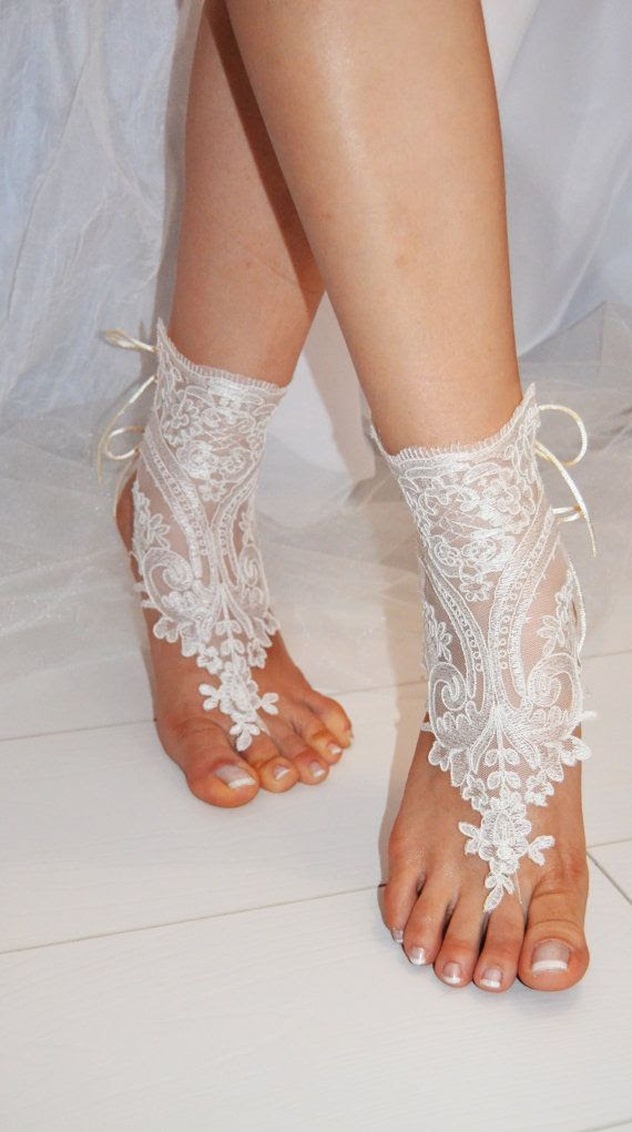 beach shoes, bridal sandals, lariat sandals, wedding bridal, white accessories, wedding shoes, summer wear, handmade, $25.00