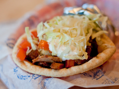House gyro (Greek Lady)