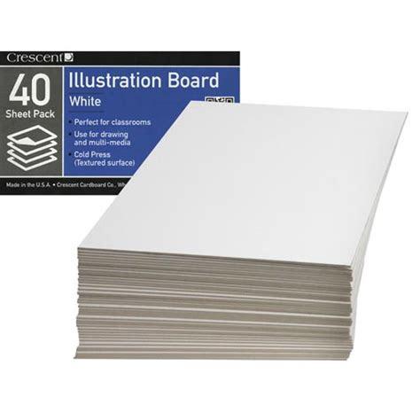 crescent  cold press illustration board school packs