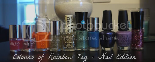 Tag Tuesday: Colours of Rainbow Tag - Nail Edition