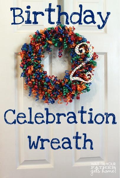 Bday Celebration Wreath