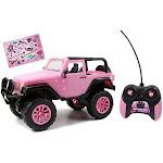 Jada Toys 1:16 Scale Pink 96991 Girlmazing Big Foot Jeep RC Vehicle