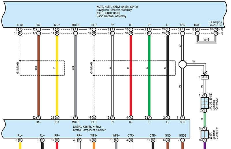 2007 Toyota Tundra Stereo Wiring Diagram Wiring Diagram View A View A Zaafran It
