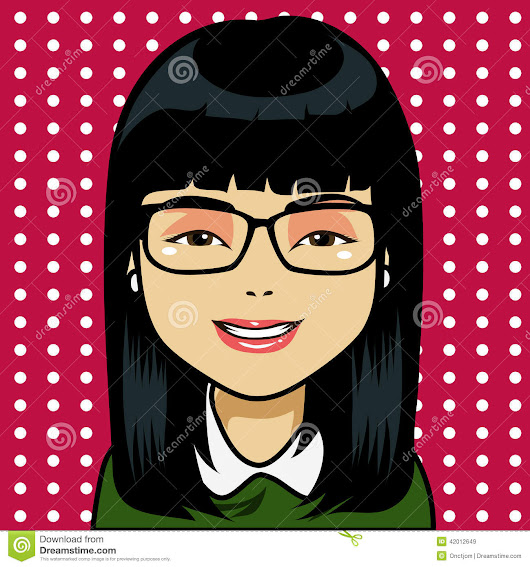 Asian Girl Cartoon Stock Vector - Image: 42012649