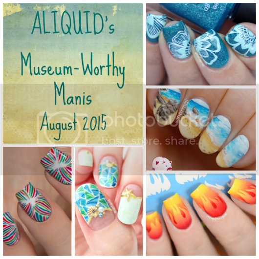 August's Museum-Worthy Manis!