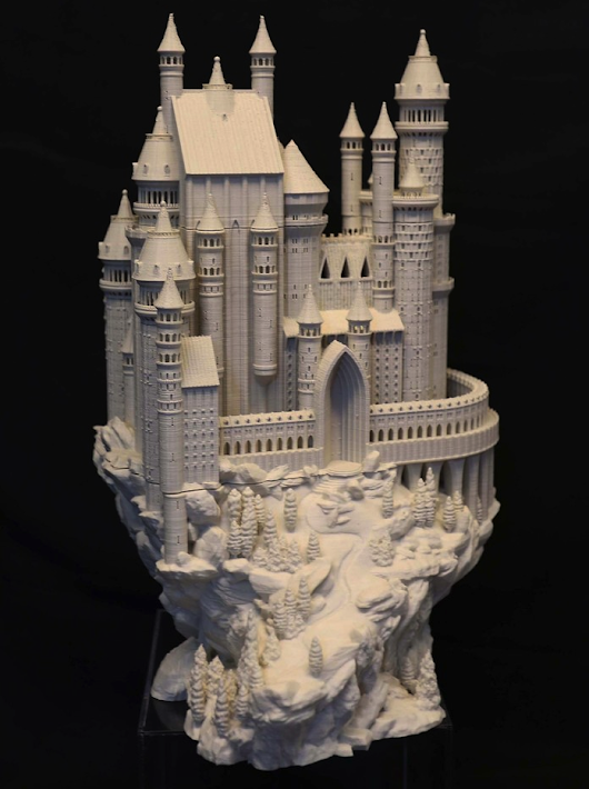 Bold Machines Designs and Releases an Amazing 3D Printed Castle Model