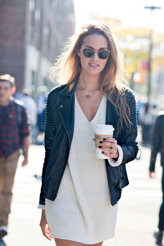 Le Fashion Blog -- Model-Off-Duty Street Style: Cecelia Singley In Round Sunglasses, Leather Jacket & Sweater Dress -- Via Scott Brasher Studio -- photo Le-Fashion-Blog-Model-Off-Duty-Street-Style-Cecelia-Singley-Round-Sunglasses-Leather-Jacket-Sweater-Dress-Via-Scott-Brasher-Studio.jpg