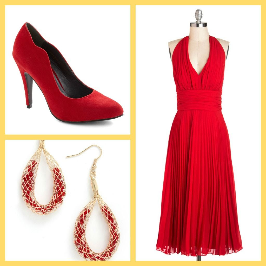 What to Wear to a New Year's Eve Wedding - The Red Party Dress