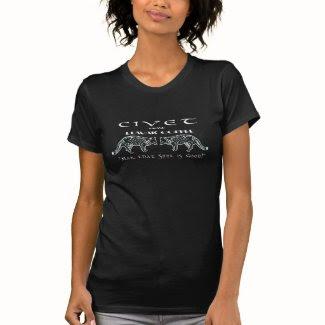 Civet Brand Luwak Coffee - Man that S*** is good! T-shirt