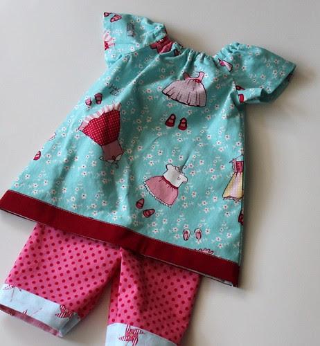 Tiny Little Newborn Peasant Dress