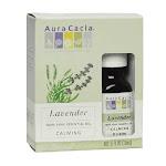 Aura Cacia 100% Pure Essential Oil Energizing, Lavender (Lavendula Augustifolia) - 0.5 Oz