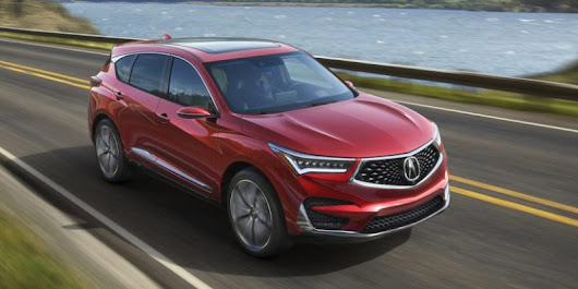 The 2019 Acura RDX Prototype Debuts – Acura Connected
