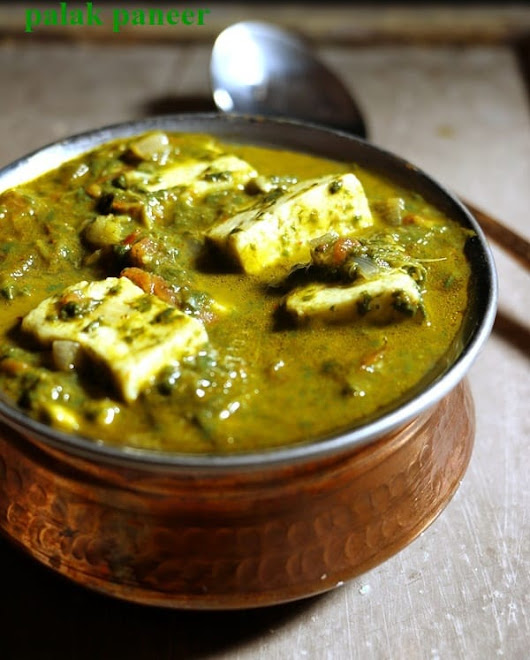 Easy Palak Paneer Recipe (With Video) | Cook Click n Devour