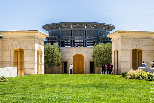 Photo Tour: Opus One Winery, Napa, CA.