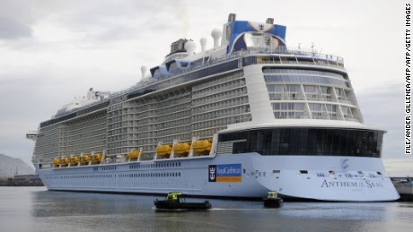 Anthem of the Seas passenger files lawsuit against Royal Caribbean