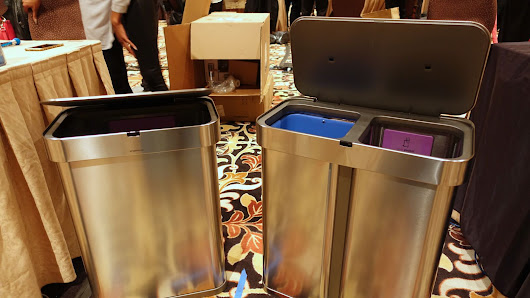 Simplehuman's new trash cans have voice commands and Wi-Fi