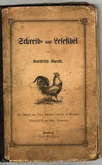 Old German School Book from 1899