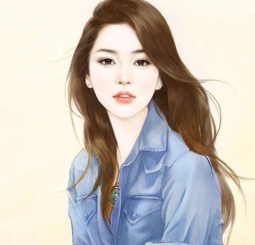 Korean Girl Drawing at GetDrawings | Free download