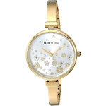 Kenneth Cole New York Women's Classic Japanese-Quartz Watch with Stainless-Steel Strap, Gold, 6 (Model: KC50746002)